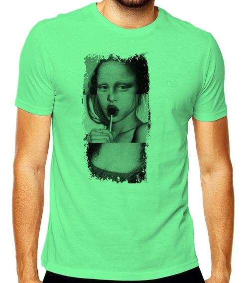 Camiseta Tumblr Monalisa Sexy Art Mod 002