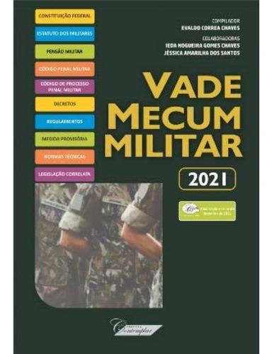 Imagem 1 de 1 de Vade Mecum Militar 2021