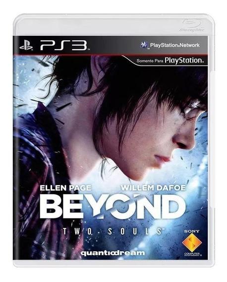 Beyond Two Souls Ps3 Mídia Física Lacrado Novo ( Em Inglês )
