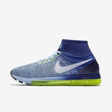 Nike Flynit Azul Cielo Running Numeros 24.5 Y 25 ¡¡oferta!!