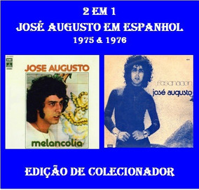Cd 2 Lps Em 1 Cd - José Augusto Em Espanhol - 1975 & 1976