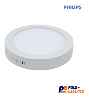 Plafon Led Philips 6w Aplicar Techo Panel Redondo