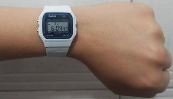 Kit Com 10 Relógios Digital Casio F-91w Borracha Atacado!
