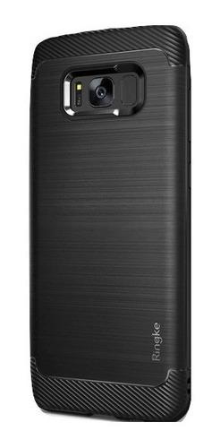 Funda Rearth Ringke ® Onyx Black Samsung S8 Plus 100% Orig.