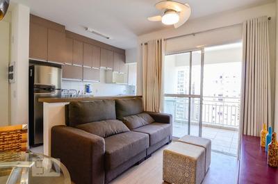Apartamento No 14º Andar Mobiliado Com 1 Dormitório E 1 Garagem - Id: 892932193 - 232193