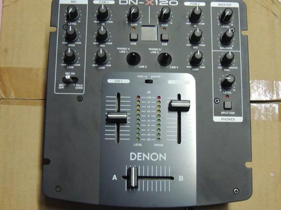 Mixer Denon X-120 . Baixei O Preço.