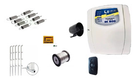 Kit Cerca Elétrica Sh 18000 Líder Controle 90 Metros