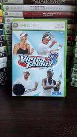 Virtua Tennis 3 - Xbox 360 Frete R$ 12