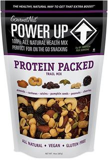 Power Up Mezcla De Frutos Secos, Proteína Para Llevar, 14 On