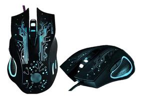 Mouse X9 3200dpi Pc Profissional Usb Alta Precisão 6 Botões