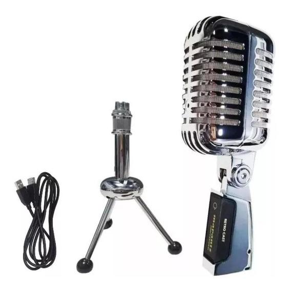 Microfone Usb Marantz Radio Pro 55sh Retro Estudio
