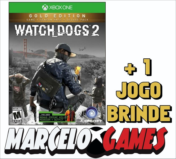 Watch Dogs 2 Gold Edition Xbox One Midia Digital