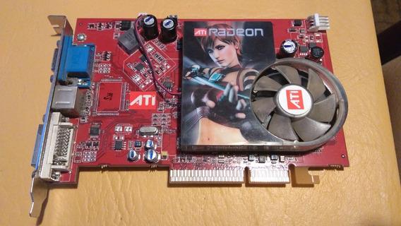Placa De Video Ati Radeon X1300 Pro Agp Imagen En Blanco