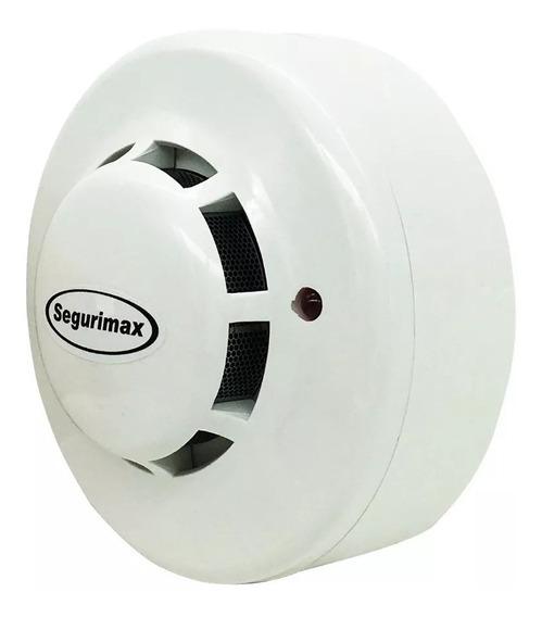 Detector De Fumaça Incêndio Óptico | Contato Seco 12v/24v