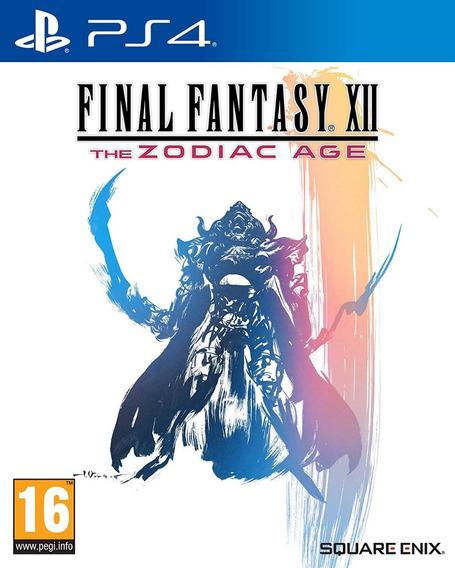Final Fantasy Xii The Zoadico Age Ps4 (pronta Entrega !)