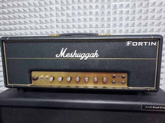 Meshuggah Amplificador Fortin Mesa Boogie Marshall Bogner