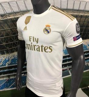 Sensaciónal Original Jersey Real Madrid Champions Local 2020