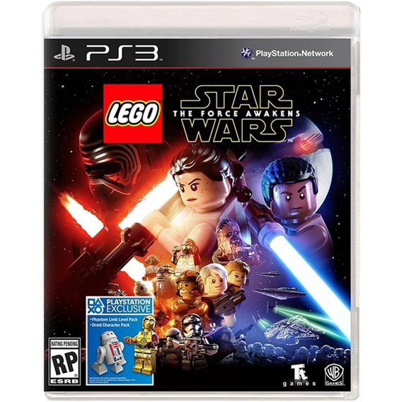 Lego Star Wars: The Force Awakens - Ps3 Lacrado