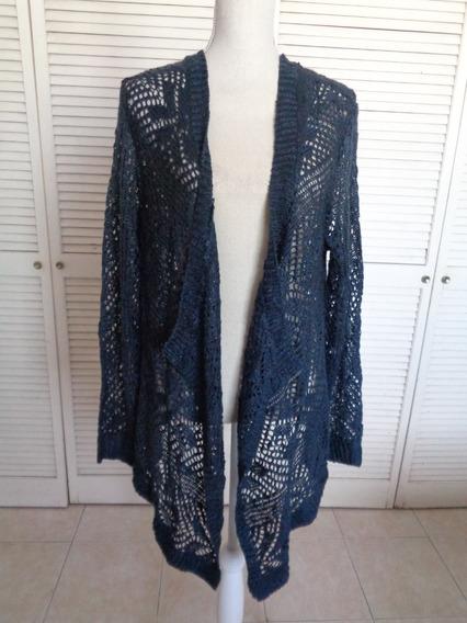 Sweater Cardigan Talla L Viene Amplio, Nvo S/etiqta, A-a 63