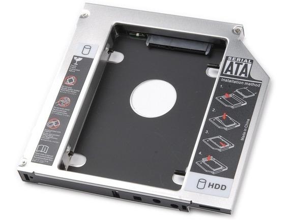 Adaptador Para Segundo Hd Ssd 2.5 Sata 9,5mm Caddy Notebook
