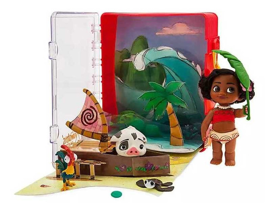 Maleta Boneca Moana Mini Animators