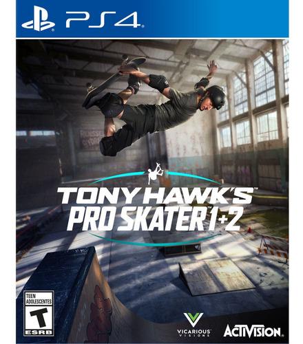 Imagen 1 de 2 de Juego Ps4 Activision Tony Hawk Pro Skater 1 Y 2