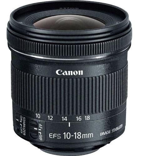 Canon Ef-s 10-18mm F / 4.5-5.6 Is Lente Stm+ Filtro