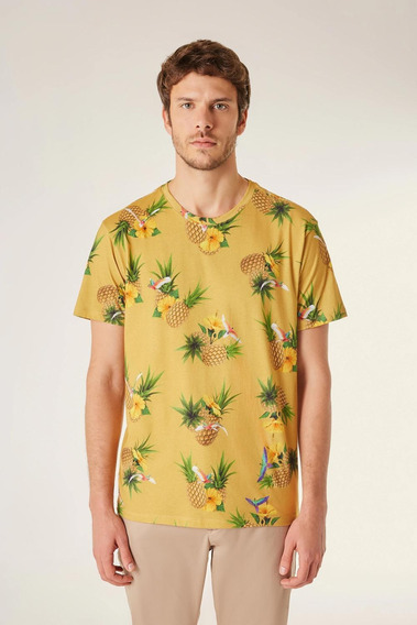 Camiseta Full Print Pf Tropical Reserva