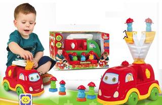 Caminhão Smart Babies Bombeiros 535 Divplast