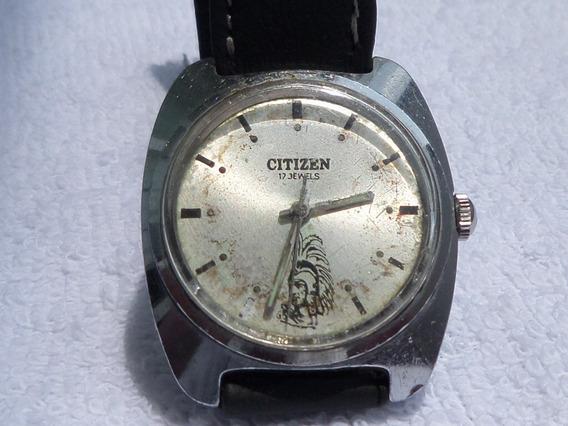 Reloj Citizen Moctezuma Vintage Años 70´s De Cuerda