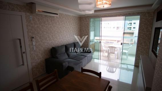 Apartamento Mobiliado Em 60x Na Meia Praia - Ref 567