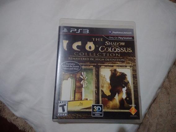Shadow Of Colossus Ps3 Mídia Física