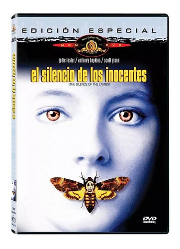 El Silencio De Los Inocentes Anthony Hopkins Pelicula Dvd