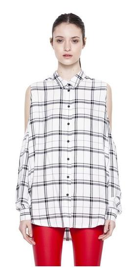 Camisa Marion Escocesa Casual Mujer Complot