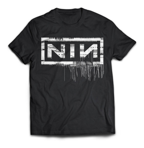 Camiseta Nine Inch Nails Nin Rock Activity