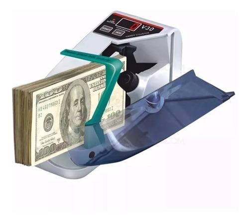Contadora De Billetes Portatil Maquina Cuenta Dinero Rapido