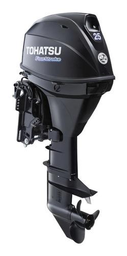 Motor Tohatsu 25 4t Arranque Eléctrico Comandos Y Power Trim