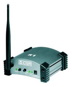 Receptor De Áudio Via Wireless R1 Csr Para Link Com T2