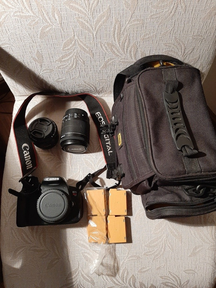 Canon T5i Kit Lente 50mm + 18-55mm