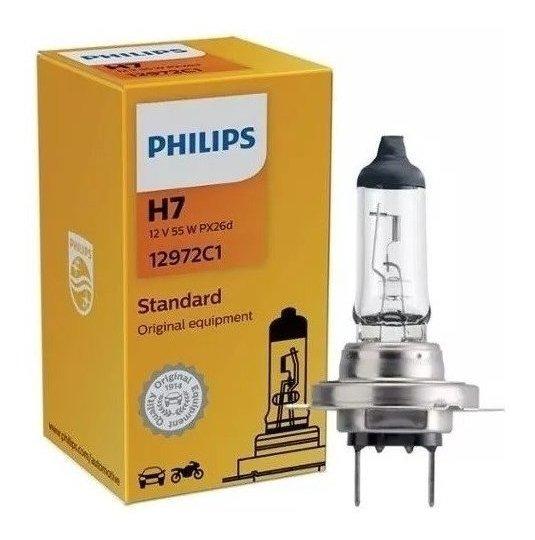 Lâmpada Philips Standard 55w 12v H7 Px26d Iodo 12972