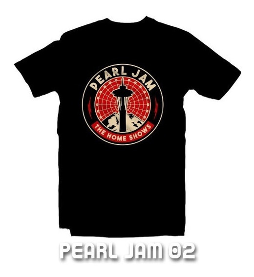 Playeras Pearl Jam - 15 Modelos Disponibles!