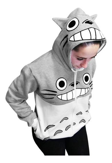 Totoro Mujer Chamarra Sudadera Anime Kawaii Envio Gratis