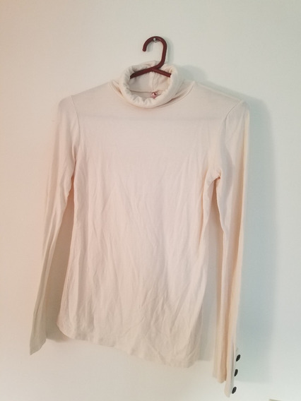 Sweater/polera Mlarga - Color Crema - Lycra - T.s