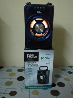 Bocina Bluetooth Aux Recargable 100w