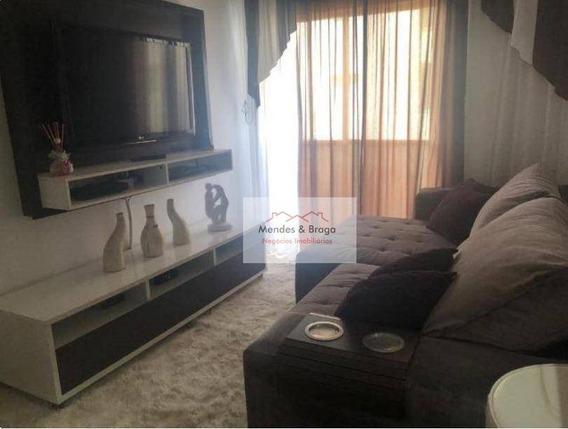 Apartamento Em Guarulhos No San Remo Com 54 Mts 2 Dorm 1 Vaga No Macedo - Ap1520