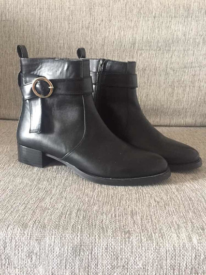 Botas Negras Mujer Pull & Bear Tipo Hm Forever