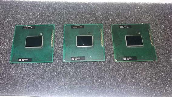 Lote 03 Processadores Intel I3 P/notebook