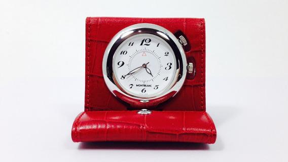 Reloj Despertador Original Marca Mont Blanc (ref 611)