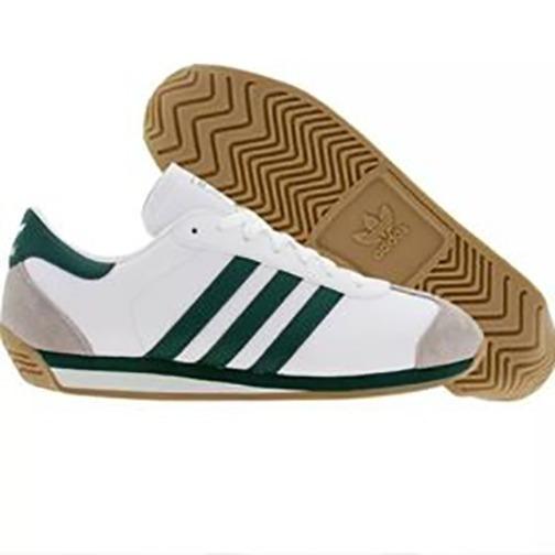 Zapatillas adidas Country Blanca Verde Hombre Tenis Original