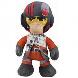 Pelúcia Poe Dameron Star Wars 45 Cm - Oficial Disney